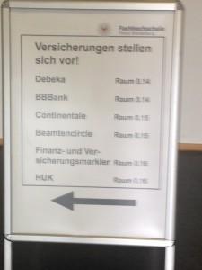 Versicherungen in der Polizeischule Oranienburg