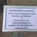 Ausbildung Polizei Mecklenburg-Vorpommern