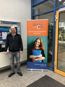 Beamtencircle bei der Verbeamtung von Lehrer in Sachsen